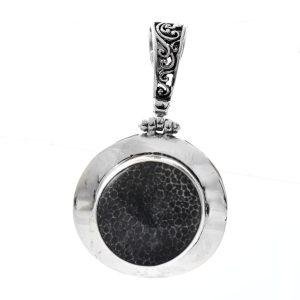 Pandantiv din argint cu jasp