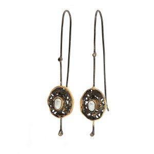 Cercei din argint cu perle de cultură - CC7219